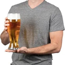 Cheap Manly Gift Ideas - Oversized Extra Large Giant Beer Glass