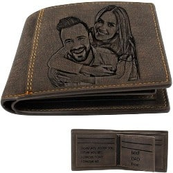 Cheap but Cool Gift Ideas - Personalized Photo Wallets for Men (1)