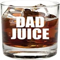 Cheap gift for Dad - Dad Juice Whiskey Glass