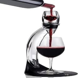 Cool Retirement Gift Ideas for Men - Red Pourer and Decanter Tower Stand Set