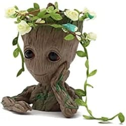 Cute Groomsmen Gift Ideas - Groot Action Figures Guardians of The Galaxy Flowerpot