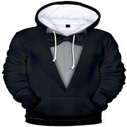 Cute Groomsmen Gift Ideas - Tuxedo Party Wedding Sweatshirt (1)