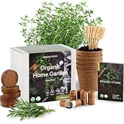 DIY Retirement Gift Ideas for Men - Gourmet Herbal Garden Planting Kit (1)