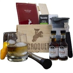 DIY Retirement Gift Ideas for Men - Professional Old Fashioned Cocktail Bartender Kit (1)