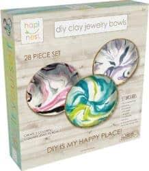 DIY gifts - DIY Clay Jewelry Dish Arts