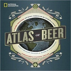Groomsmen Beer Gift Ideas - National Geographic Atlas of Beer A Globe-Trotting Journey Through the World of Beer (1)