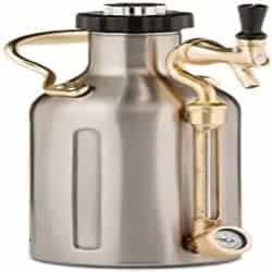 Groomsmen Beer Gift Ideas - Stainless Steel uKeg Carbonated Growler