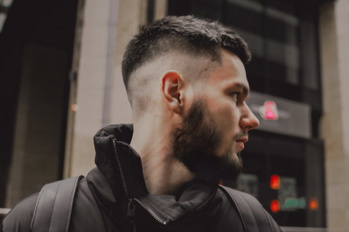 Men's Fade Haircuts - Low Burst Fade + Spiky Hair.jpeg