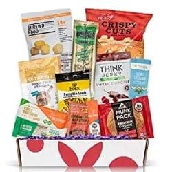 Manly Retirement Gift Ideas for Men - High Protein Sampler Snack Box