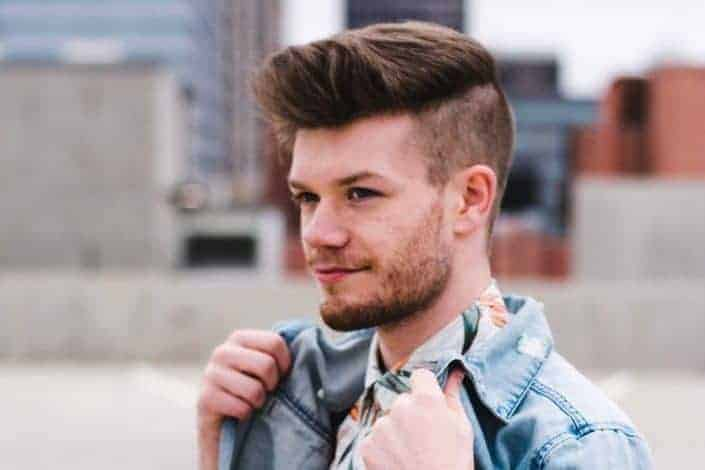 Mens Modern Medium Hairstyle - Hi Lo Fade + Surgical Part + Pompadour.jpeg