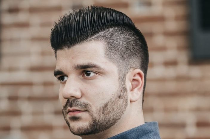 Mens Modern fade Haircut - Temp Fade Haircut.jpeg