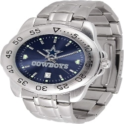 Retirement Gift Ideas for Dad - NFL Men's Sport Steel Wrist Watch (1)