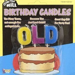 OLD Over The Hill Birthday Candles (1)