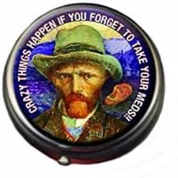 Van Gogh Pill Box