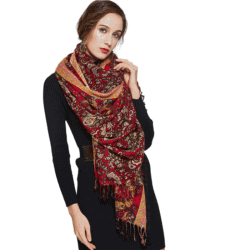 cool gifts - Pure Wool Large Size Women Winter Large Scarf Pashmina