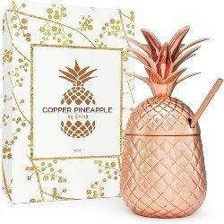 Small Cute Gift Ideas - Solid Copper Pineapple Tumbler (1)