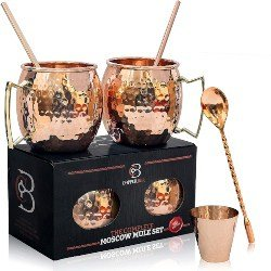 Small Gift Ideas for Girlfriend - Moscow Mule Copper Mugs (1)