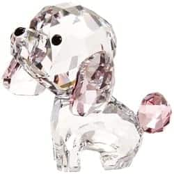 Small Gift Ideas for Mom - SWAROVSKI Puppy Figurine (1)