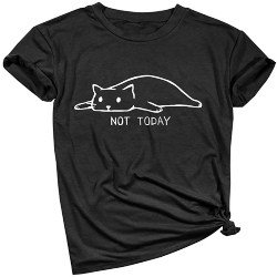 Small Gift Ideas for Wife - Cat Cute Graphic Tee Shirts (1)