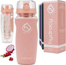 Hydracy Fruit Infuser Water Bottle.