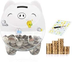 MOMMED Piggy Bank Digital Coin Bank