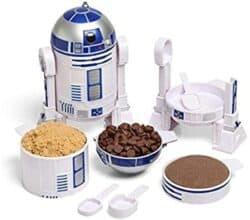 ThinkGeek Star Wars R2-D2 Measuring Cup Set