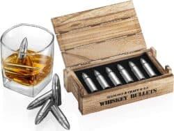 Whiskey Stone Bullets Gift Set