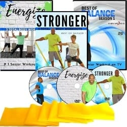 Thoughful Retirement Gift Ideas for Men - Exercise for Seniors DVD Collection (1)