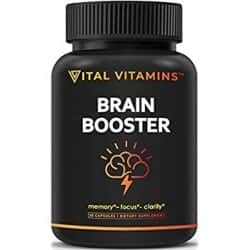 Thoughtful Retirement Gift Ideas for Men - Brain Supplement Nootropics Booster (1)