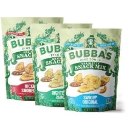 Thoughtful Retirement Gift Ideas for Men - Bubba's Fine Foods Paleo Snack Mix Variety Pack (1)