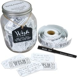 Thoughtful Retirement Gift Ideas for Men - Top Shelf Retirement Wish Jar (1)