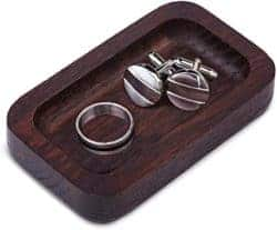 Unique Gifts For Dad Who Have Everything - Prazoli Wood Ring Tray