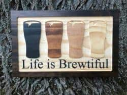Unique Gifts For Dad - Beer Sign