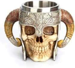 Unique Gifts For Dad - skeleton tankard stein