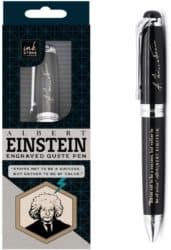 Unique Groomsmen Gifts - Albert Einstein Inspirational Quote Pen