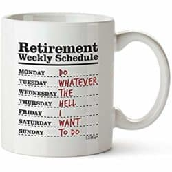Unique Retirement Gift Ideas For Men Who Have Everything - Retirement Coffee Mug
