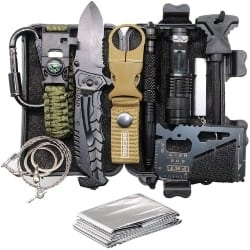 Unique Retirment Gift Ideas for Men - 11-in-1 Survival Gear Kits (1)
