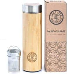 Unique but Thoughtful Gifts For Men Who Have Everything - Bamboo Tumbler