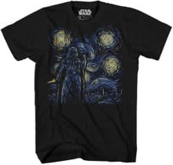 Unique but Thoughtful Gifts For Men Who Have Everything - Starry Night Darth Vader Van Gogh