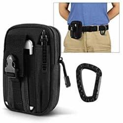 best EDC gear essentials - LefRight Multipurpose Tactical Nylon Molle Utility IFAK Pouch Waist Bag