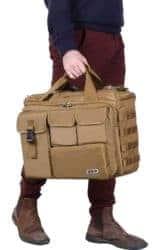 "best EDC gear essentials - Lifewit 17"" Men's Military Laptop Messenger Bag"