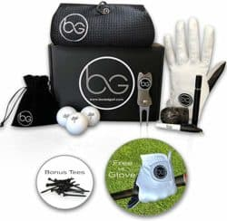 best gifts for dad - golfing set with accessories