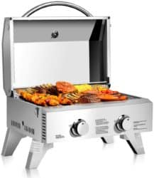 best small gas grill - Giantex Propane Tabletop Gas Grill