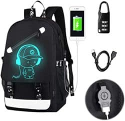 cheap gifts - Anime Luminous Backpack