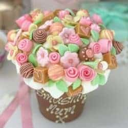 cheap gifts - Candy Floral Chocolate Smash Cup