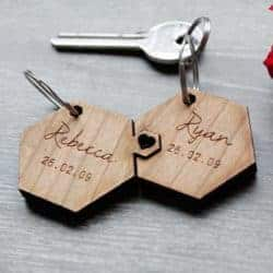 cheap gifts - Couple Keychain