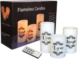 cheap gifts - Flameless Candles With Remote Control and Timer