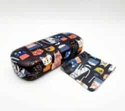cheap gifts - Glasses Case - Crazy Cats