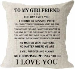 cheap gifts - I Love You Pillowcase