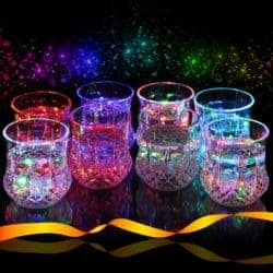cheap gifts - Liquid Activated Multicolor LED Glasses